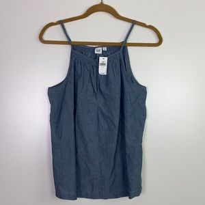 GAP I NWT Chambray Tank Size Small